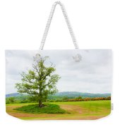 But Only God Can Make A Tree Weekender Tote Bag by Semmick Photo