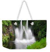 Butchart Gardens Waterfalls Weekender Tote Bag