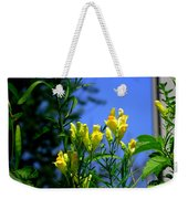 Butter And Egg Wildflower Weekender Tote Bag