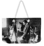 Butter Making, C1899 Weekender Tote Bag