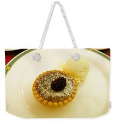 Butter Tart With Ice Cream Weekender Tote Bag