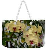Buttercream Orchids Weekender Tote Bag
