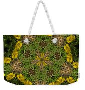 Buttercup Kaleidoscope Weekender Tote Bag