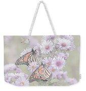 Butterflies And Bee Weekender Tote Bag