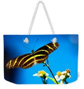 Butterflies And Blue Skies Weekender Tote Bag