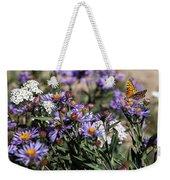 Butterflies And Wildflowers Weekender Tote Bag