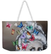 Butterflies In The Thoughts Weekender Tote Bag