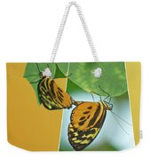Butterflies Mating Out Of Bounds Weekender Tote Bag