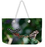 Butterflies On A Wire C Weekender Tote Bag