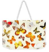 Butterflies Square Weekender Tote Bag
