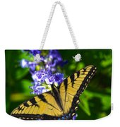 Butterflly Bush And The Swallowtail Weekender Tote Bag