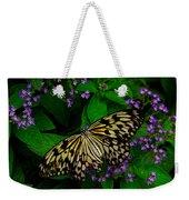 Butterfly - Yellow Green Purple Weekender Tote Bag