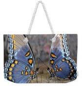 Butterfly 007 Weekender Tote Bag