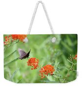 Butterfly A L'orange Weekender Tote Bag