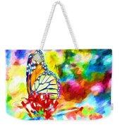 Butterfly Abstracted Weekender Tote Bag