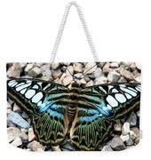 Butterfly Amongst Stones Weekender Tote Bag