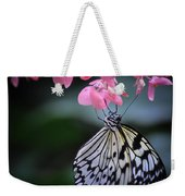Butterfly And Blossoms Weekender Tote Bag