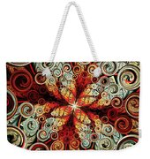 Butterfly And Bubbles Weekender Tote Bag by Anastasiya Malakhova