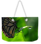 Butterfly And Water Weekender Tote Bag