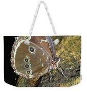 Butterfly At Night Weekender Tote Bag