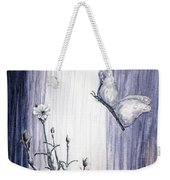 Butterfly At The Veil Weekender Tote Bag