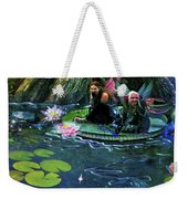 Butterfly Ball Pond Weekender Tote Bag