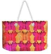 Butterfly Beads Weekender Tote Bag