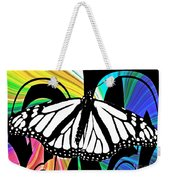 Butterfly Abstract Wall Art Decor Weekender Tote Bag