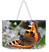 10088 Small Tortoiseshell Butterfly Weekender Tote Bag