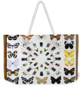 Butterfly Collection Weekender Tote Bag