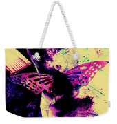 Butterfly Disintegration  Weekender Tote Bag