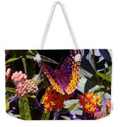 Butterfly Don't Fly Away Weekender Tote Bag
