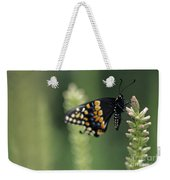 Butterfly E. Black Swallowtail Weekender Tote Bag