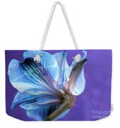 Butterfly Flower Weekender Tote Bag