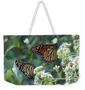 Butterfly Garden - Monarchs 01 Weekender Tote Bag