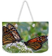 Butterfly Garden - Monarchs 17 Weekender Tote Bag