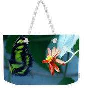 Butterfly In Flight Weekender Tote Bag