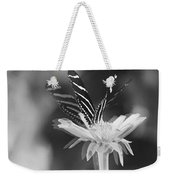 Butterfly In Motion #1952bw Weekender Tote Bag