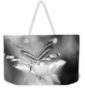 Butterfly In Motion #1961bw Weekender Tote Bag