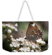 Butterfly In The Garden Weekender Tote Bag