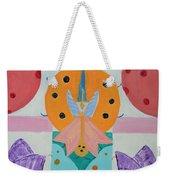 Butterfly Kisses And Ladybug Hugs Weekender Tote Bag