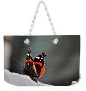 Butterfly Landing Weekender Tote Bag