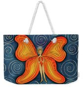 Butterfly Mantra Weekender Tote Bag