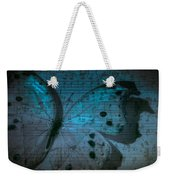 Butterfly Midnight Symphony Weekender Tote Bag