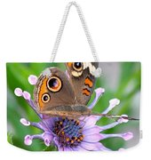 Butterfly On African Daisy Weekender Tote Bag