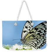 Butterfly On Blue Weekender Tote Bag