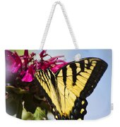 Butterfly Out Of The Blue - Blue Butterfly Art Weekender Tote Bag