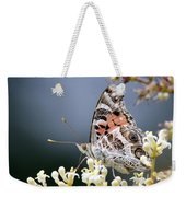 Butterfly - Painted Lady - Tasty Out Here Weekender Tote Bag