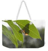 Butterfly Shadow Weekender Tote Bag