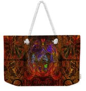 Solar Golden Butterfly Weekender Tote Bag